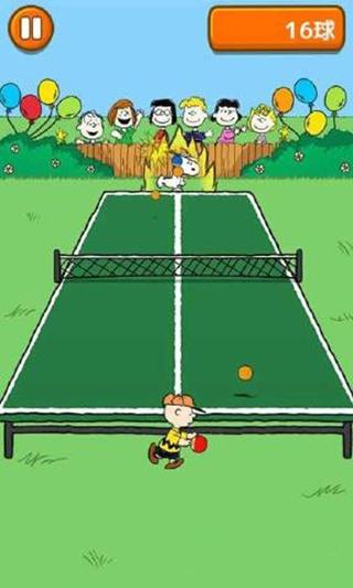 史努比的乒乓時光手機版