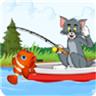 猫和老鼠钓鱼