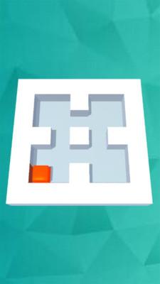 涂色迷宫游戏