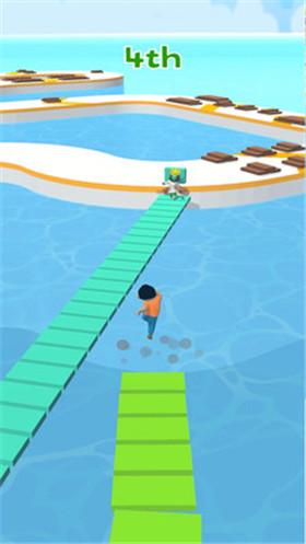 搭个桥快跑破解版游戏下载