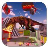 恐龙摧毁城市模拟破解版