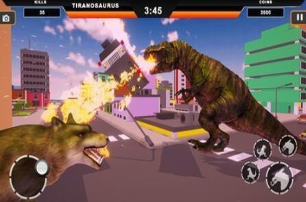 恐龙摧毁城市模拟破解版下载