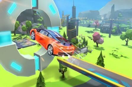 超级坡道赛车游戏
