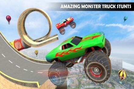 怪物卡车特技驾驶安卓版下载