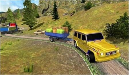 吉普越野货运拖车正版
