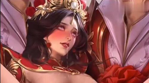 王者荣耀女英雄翻白眼流口水流眼泪合集