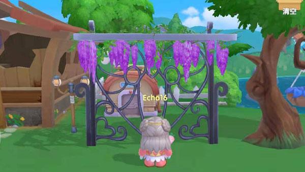 摩尔庄园紫藤花架在哪买