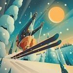 高山冒险滑雪