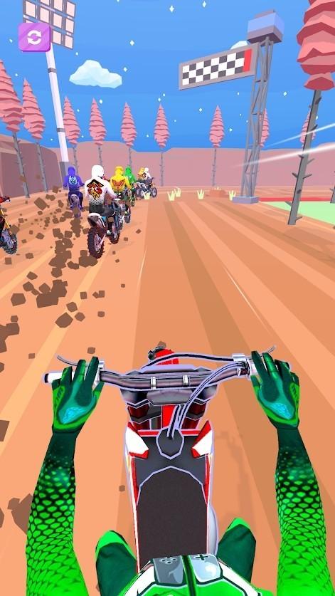 越野摩托车3D游戏下载
