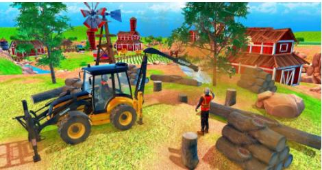 现代木屋建造游戏下载