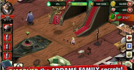 亚当斯一家神秘府邸